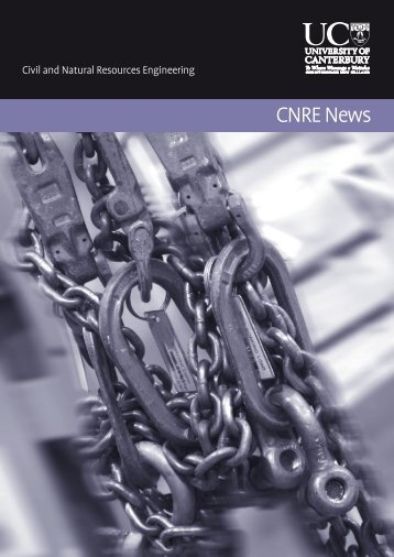 CNRE News - Civil and Natural Resources Engineering - University ...