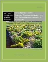 green roof technology - Civil and Natural Resources Engineering ...