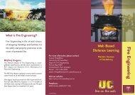 Fire Engineering - University of Canterbury