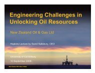 Engineering Challenges in Unlocking Oil Resources - Civil and ...