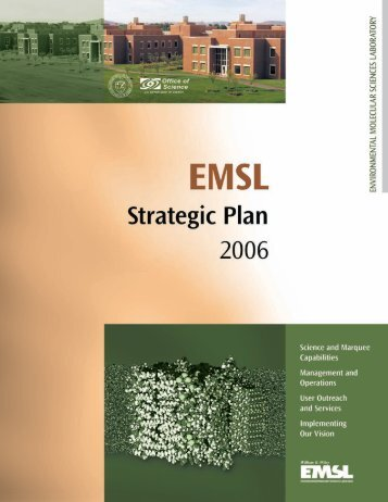 Contents - EMSL - Pacific Northwest National Laboratory