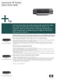 Imprimante HP Deskjet 9650/9670/9680 - Evok