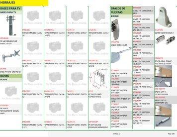 Catálogo Completo de Herrajes - Tesoro en Maderas