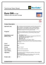 Euro DIN TC 1301 - Tex-Color