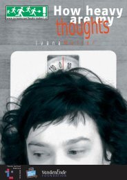 SNT . flyer heavy thoughts - Theater Instituut Nederland