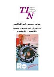 mediatheek aanwinsten - Theater Instituut Nederland