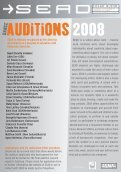 AUDITIONS 2008 - Theater Instituut Nederland - Page 2