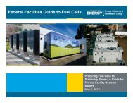 Federal Facilities Guide to Fuel Cells - National Hydrogen Association