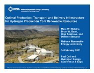 Optimal Production, Transport, and Delivery Infrastructure for ...