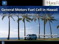 General Motors Fuel Cell in Hawaii - National Hydrogen Association