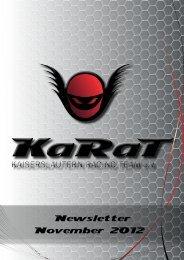 November 2012 - KaRaT