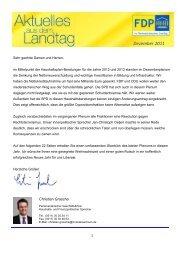 Dezember 2011 - FDP Fraktion Niedersachsen