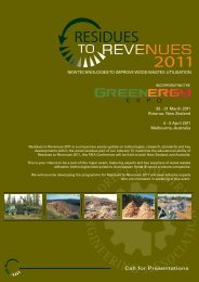Residues to Revenues 2013