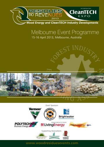 Aust 2013 Programme - Residues to Revenues