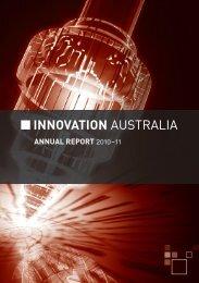Innovation Australia Annual Report 2010 - 2011 - Part ... - AusIndustry