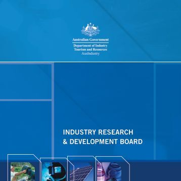 IR&D 2005 Annual Report.indd - AusIndustry