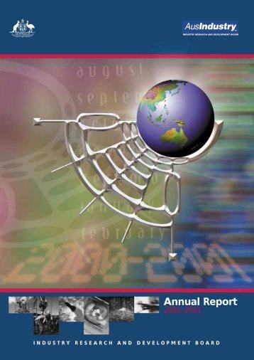 Annual Report - AusIndustry