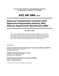 ATC API Software Requirements Specification 2.04 - Institute of ...