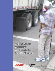 Pedestrian and Safety Audit Guide - Institute of Transportation ...