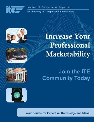 Membership Brochure - Institute of Transportation Engineers