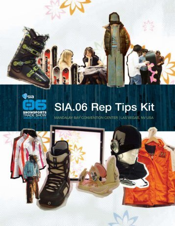 SIA.06 Rep Tips Kit - SnowSports Industries America