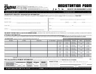 REGISTRATION FORM - SnowSports Industries America