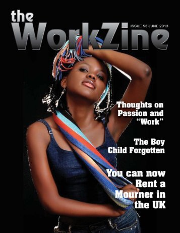 ISSUE 53 JUNE 2013 - The WorkZine