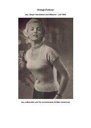 Vintage-Pullover - Tichiro