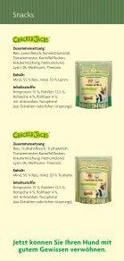 Info - James Wellbeloved Truthahn und Reis Cracker Jacks - als PDF - Seite 2
