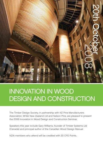 20th o ctober - Timber Design Society