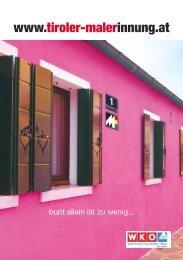 Unternehmer, Mitglieder der Fachgruppe - Tiroler Landesinnung der ...