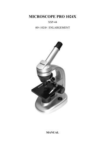 microscope pro 1024x - Manualer