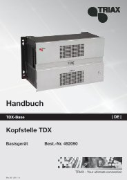 TDX Basisgerät
