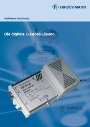 Die digitale 1-Kabel-Lösung