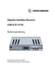 Digitale Satelliten-Receiver