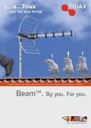 BeamTM. By you. For you. 1...2...Triax