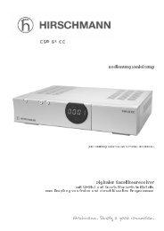 CSR 61 CC - Triax