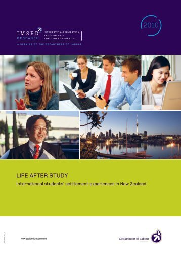 Life After Study - Department of Labour