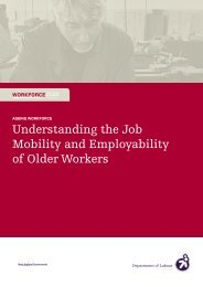 Understanding the Job Mobility and Employability of Older Workers