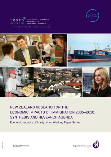 Synthesis and research agenda - Department of Labour
