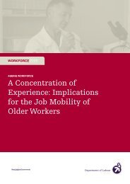 20090421 a concentration of experience and the job mobility of ...