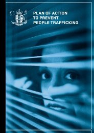 Plan of Action to Prevent People Trafficking [pdf, 40 pages, 1.0MB]