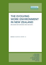 the evolving work environment in new zealand - Department of Labour