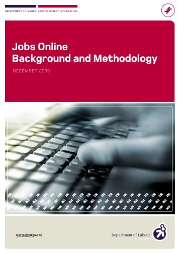 Jobs Online Backgroubnd and Methodology - Department of Labour
