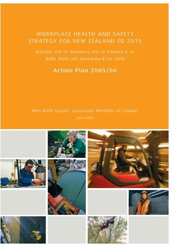 Workplace Health and Safety Strategy for New Zealand to 2015 ...