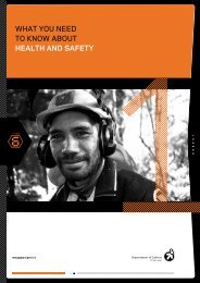 what you need to know about health and safety - Business.govt.nz