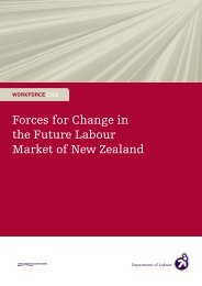 Forces for Change in the Future Labour Market of New Zealand [pdf ...