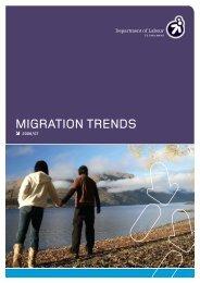 Migration Trends 2006/07 - Department of Labour