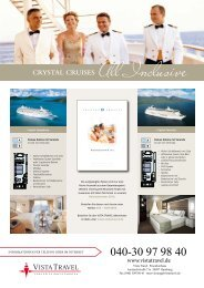 CRYSTAL CRUISES All Inclusive