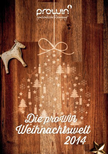 proWIN Weihnachtswelt 2014